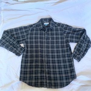 Men's Columbia Long Sleeve Flannel Great Condition